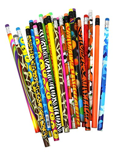 Pencil Assortment For Kids Prizes And Exciting School Supplies - Bulk Pack Of 144 Colorful Pencils for $<!--$24.99-->