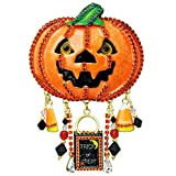 Lunch At The Ritz Trick or Treat Halloween Pin Rare from Esme's Vault Signed