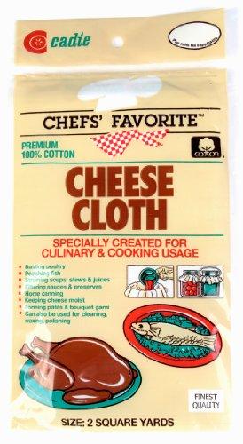 Cadie White 2 Sq Cheesecloth 100/% Cotton Chef Favorite