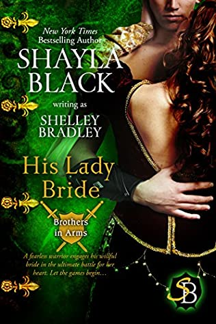 book cover of His Lady Bride