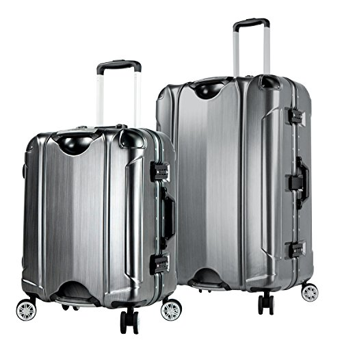 travelers-club-luggage-luna-2-piece-abs-pc-aluminum-frame-luggage-set-with-double-spinner-black