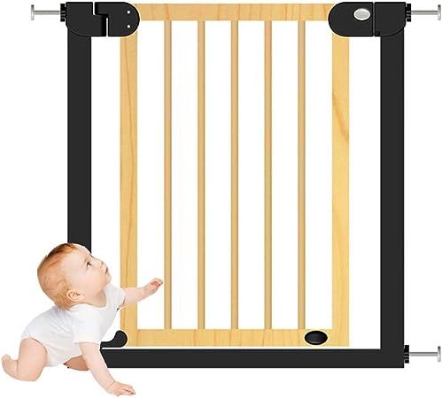 HBIAO Barreras para Puertas y escaleras, Madera Maciza Valla de bebé Valla de Cocina de bebé Valla Puerta barandilla de la Escalera,XS: Amazon.es: Hogar
