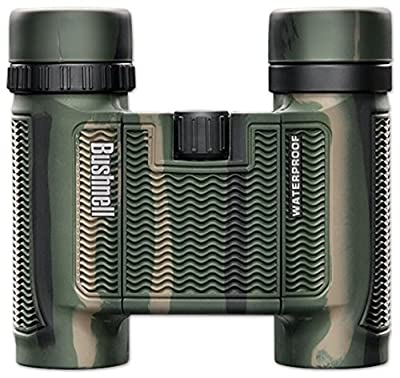 Bushnell H2O Waterproof/Fogproof Compact Roof Prism Binocular, Camo, 10 x 25-mm