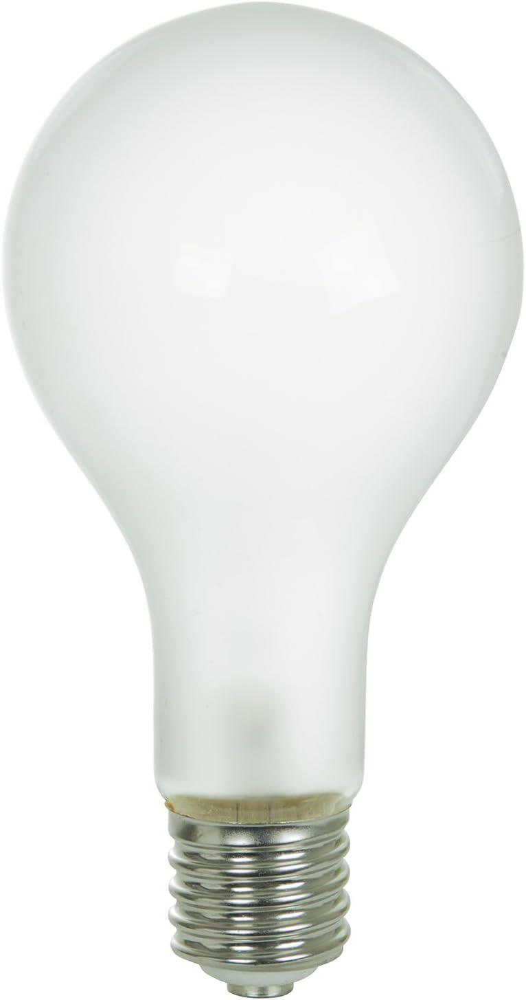 Satco S4962 130-Volt 300-Watt PS35 Mogul Base Light Bulb Frosted Satco Products