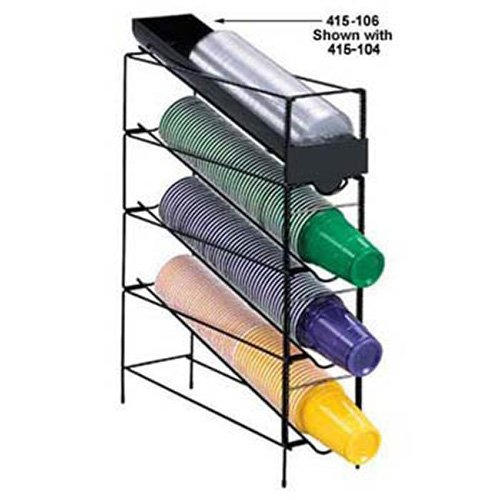 Cup Rite Dispense (Dispense-Rite WR-CT-LID Lid Chute for Wire Cup and Lid Dispensers 415-103, 415-104 and 415-105)