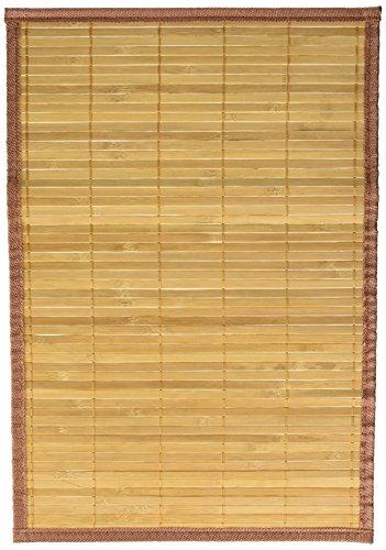 Kesper Platzset 2er-Set, hell, Platzdecken, Unterleger, aus Bambus, Maße: 445 x 300 mm, braun/natur