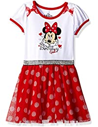 Girls Minnie Mouse Birthday Dress