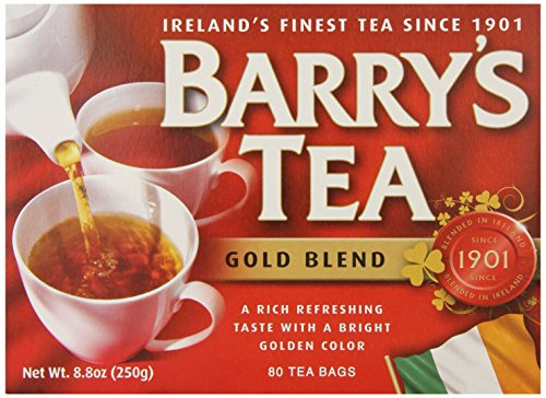 Barrys Gold 80 Bags (Pack Of 2) (Barrys Gold Blend Tea)