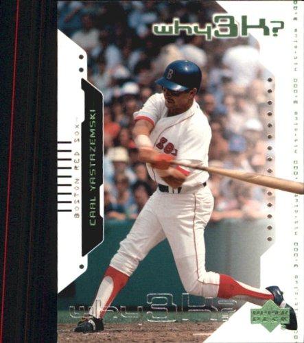 2000 Upper Deck Hitter's Club Baseball Card #60 Carl Yastrzemski Mint