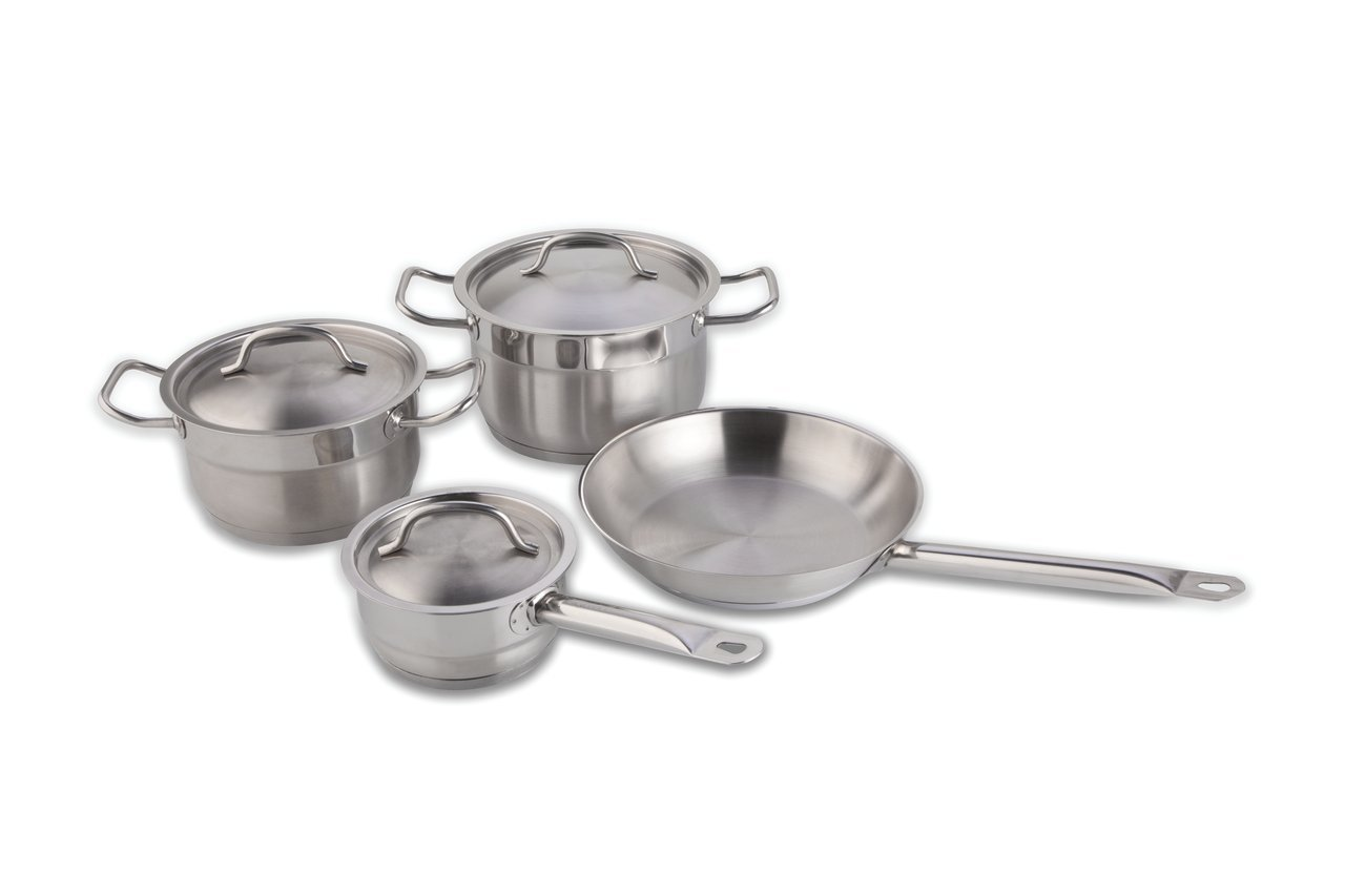 BergHOFF Hotel Line 7-Piece Stainless Steel Cookware Set