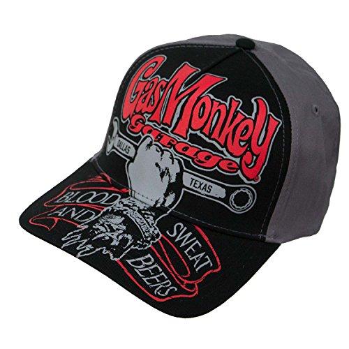 Garage Hat - Gas Monkey Garage Texas Automobile Snapback Hat