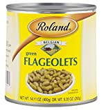 Roland Green Flageolets, 14.11 Ounce (Pack of 24)