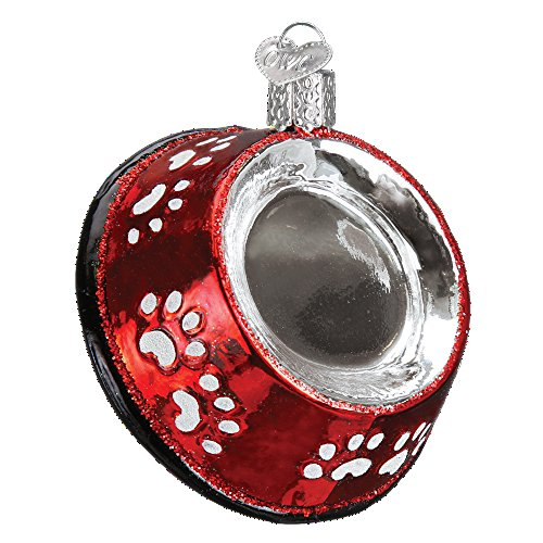 Old World Christmas Puppy Dogs Glass Blown Ornament (Dog ()