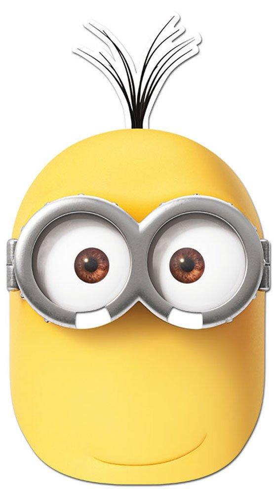 Minions - Kevin Maske - hochwertiger Glanzkarton mit Augenlöchern
