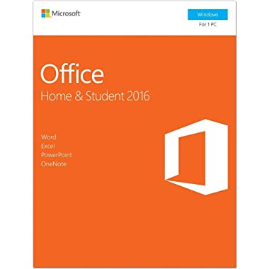 Microsoft Office 2016 Home & Student | 1 user, PC Key Card