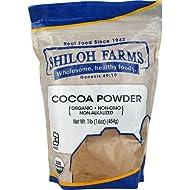 Shiloh Farms Organic Cocoa Powder -- 16 oz - 2 pc