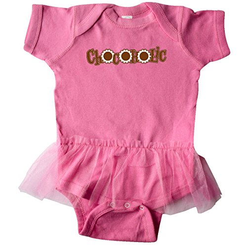 inktastic Chocoholic Candies In Infant Tutu Bodysuit 24 Months Raspberry (Chocoholics Body)