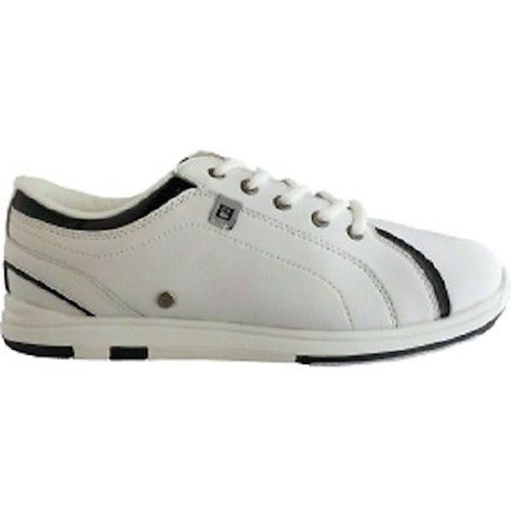 Brunswick Women's Rave White/Black Bowling Shoes Size 8.5 by Brunswick (Image #2)