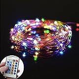 LED String Lights , Ledgle 66ft 200 LEDs Copper Wire Lights Dimmable ...