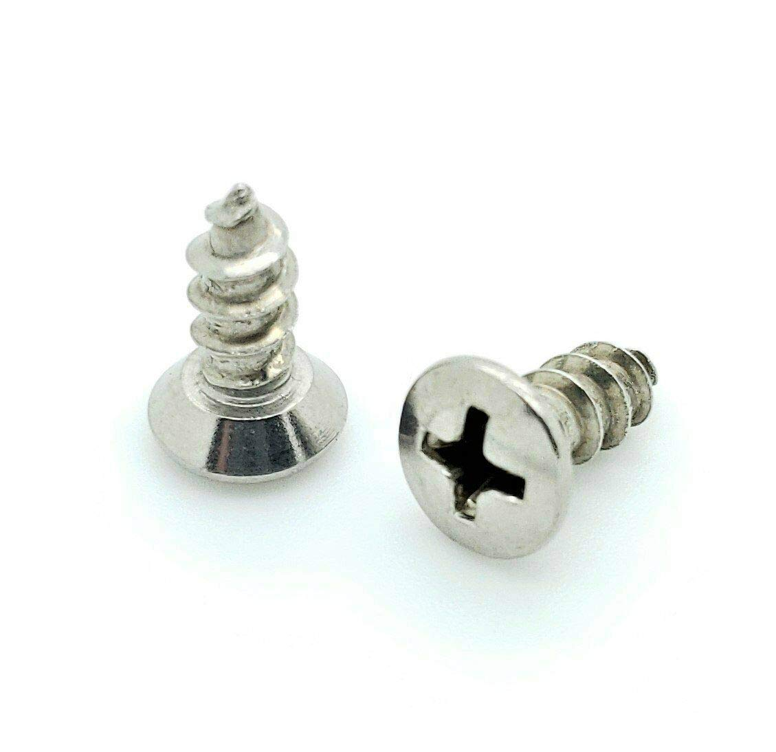 BCP703 200 Qty #10 x 1//2 Oval Head 304 Stainless Phillips Head Wood Screws - Durable and Sturdy Good Holding Power in Different Materials