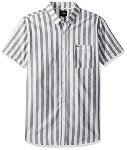 Rip Curl Mens Ourtime Ss Shirt  Stone Stone  L