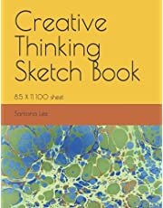 Creative Thinking Sketch Book: 9X12 100 sheet