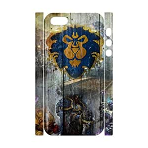 6 iphone 5 5s Cell Phone Case 3D World Of Warcraft DWRS6513591745938