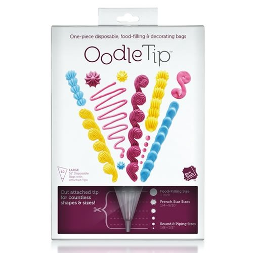 Oodle Tip Disposable Food Filling & Decorating Bags