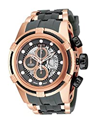 Invicta Men's 16667 Bolt Zeus Reserve Swiss Made Automatic Chronograph Polyurethane Strap Watch