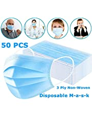 CICMOD 10/20/30/50pcs Disposable Face Mask Dust-proof And Breathable Filter Anti-pollution Face Cover