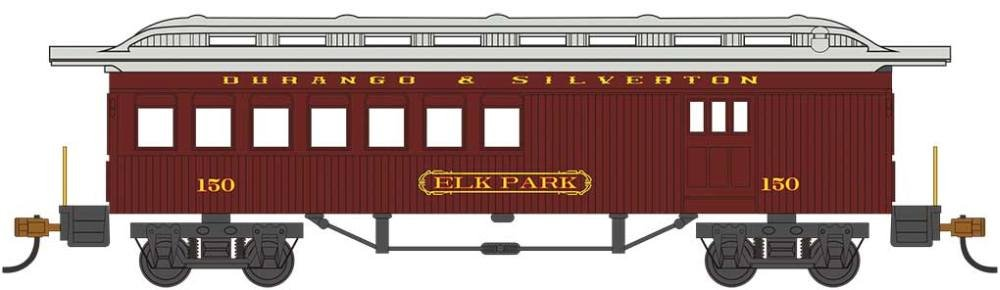 Bachmann Hobby Train Passenger Car, Prototypical Red 13507