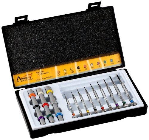 Optima 55-633 Nine Screwdriver Set with Spares Watch Repair Kit [並行輸入品] B078B6XWFW