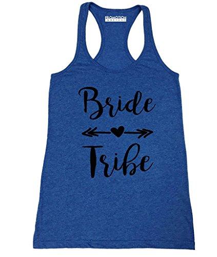 Promotion & Beyond P&B Wedding Bridal Party Gear Bride Tribe Women's Tank Top, XL, H. -