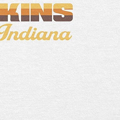 Nerdo Herren Visit Hawkins Indiana T-Shirt