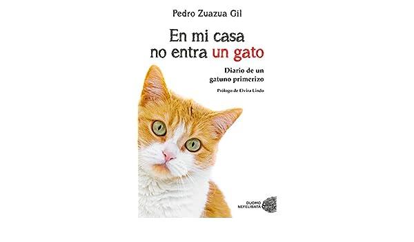 En mi casa no entra un gato : diario de un gatuno primerizo: Pedro Zuazua Gil: 9788417128081: Amazon.com: Books