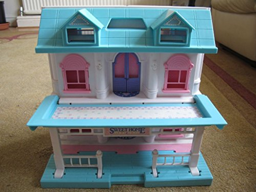 Dollhouse Chalet (My Sweet Home Chalet 3 stories Foldable dollhouse)