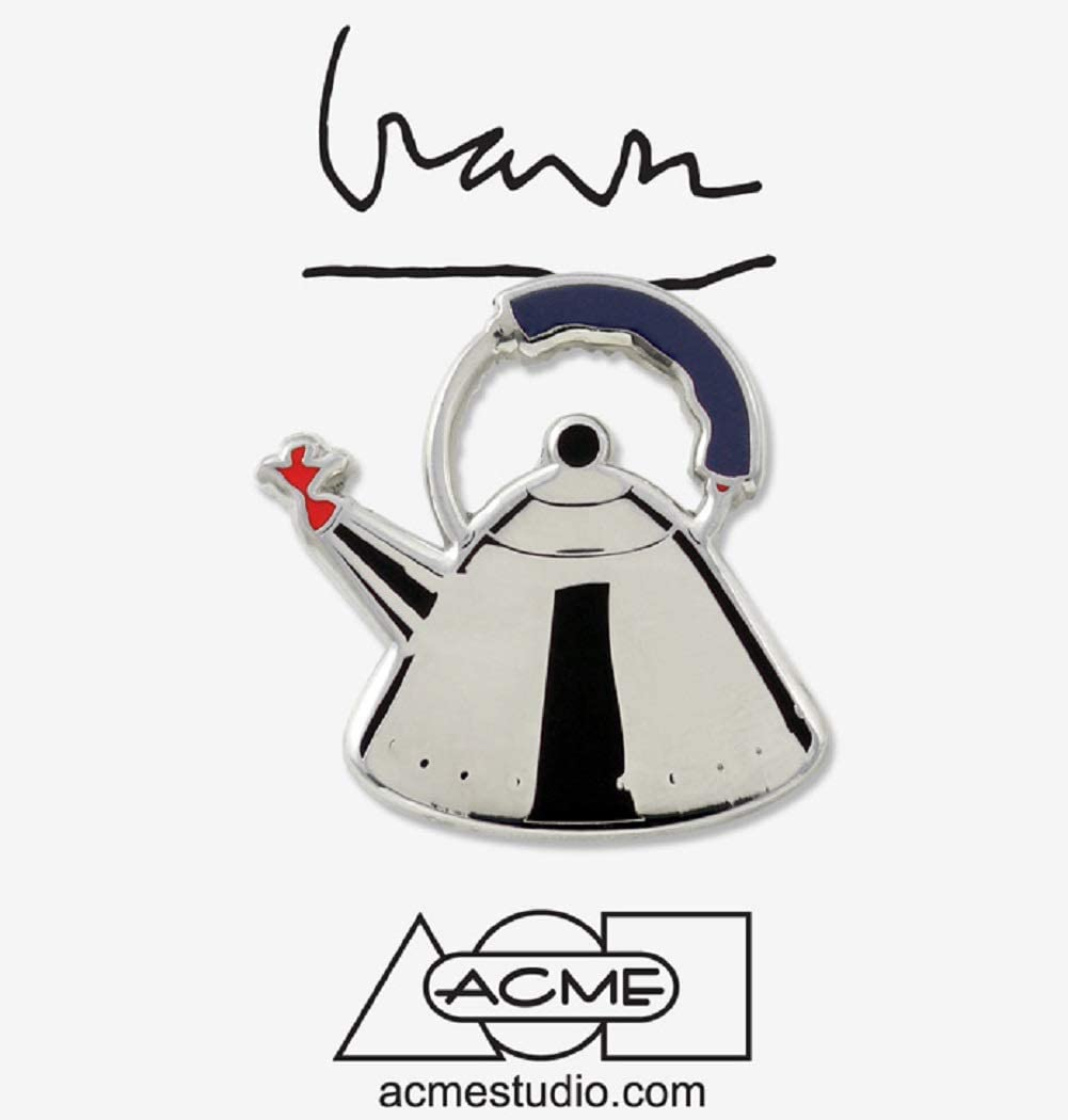 Acme Studio Pin Whistling Bird Tea Kettle by Michael Graves