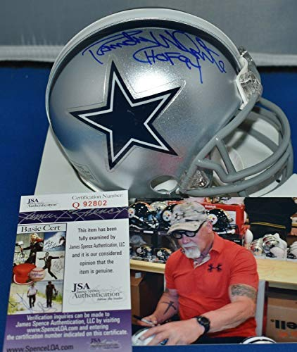 Randy White Autographed Signed Mini Helmet Dallas Cowboys HOF 1994 Memorabilia - JSA Authentic