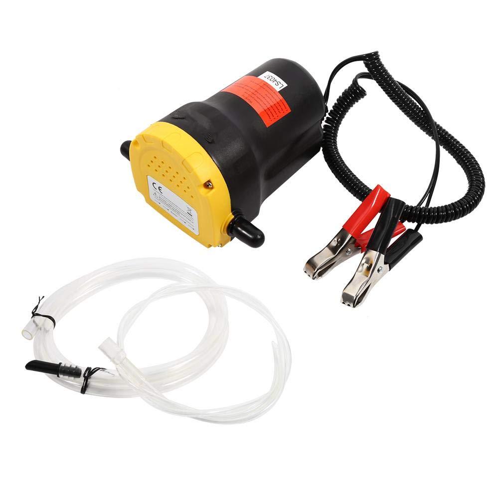 Diesel-Absaugpumpe Diesel-/Ölfl/üssigkeitstransporterpumpe 250 l elektrischer Sauger /Ölsauger Motorrad f/ür Auto 12 V Kraftstoffumf/üllpumpe Boot
