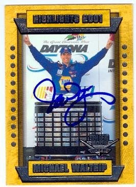 Michael Waltrip autographed Trading Card (Auto Racing for sale  Delivered anywhere in Canada
