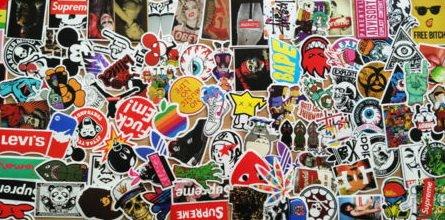 Cdx Vinyl - NEYA 100pcs Car Motorcycle Bicycle Skateboard Laptop Luggage Vinyl Sticker Graffiti Laptop Luggage Decals Bumper Stickers, 100 Pieces