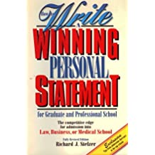 How to Write a Winning Personal Statement (Second edition)