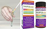 100 Ct Per Pack Supreme Popular pH Tester Strips Soil Food Indicator Universal Sensitive Accurate Wide Range 0-14pH with Color Chart