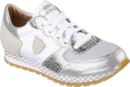 Skechers Women's OG 99 Crochet Cruzer Sneaker,White/Gold,US 6.5 M