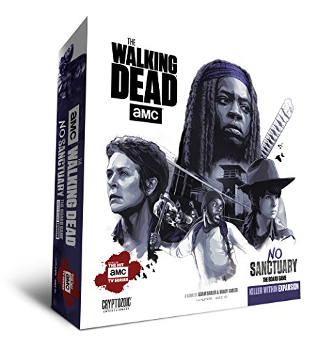 Cryptozoic Entertainment Walking Dead No Sanctuary Killer Within Expansion Board Games