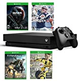 xbox one package fifa - Xbox One X Super Bonus Bundle - Includes - Xbox One X 1TB Console, Controller, Madden NFL 17, Fifa 17, Mass Effect Andromeda and Titanfall 2