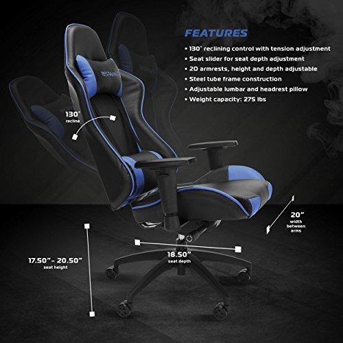 Respawn Racing Style Gaming Chair Reclining Ergonomic