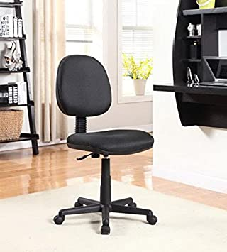 Fabric Office Task Chair Black