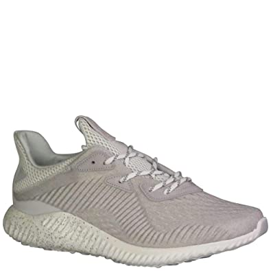separation shoes 499ee 165b2 adidas Womens Alphabounce Reigning Champ Running Shoes Clear GreyWhiteStone  6.5 B(