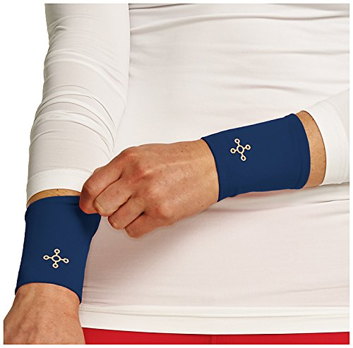 Tommie Copper Women's Recovery Affinity Wrist Sleeve, Cobalt Blue, X-Large by Tommie Copper (Image #1)